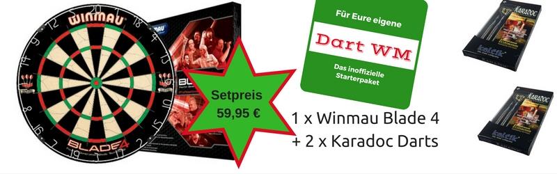 TOP Dart WM Angebot / Das inoffzielle Promi S